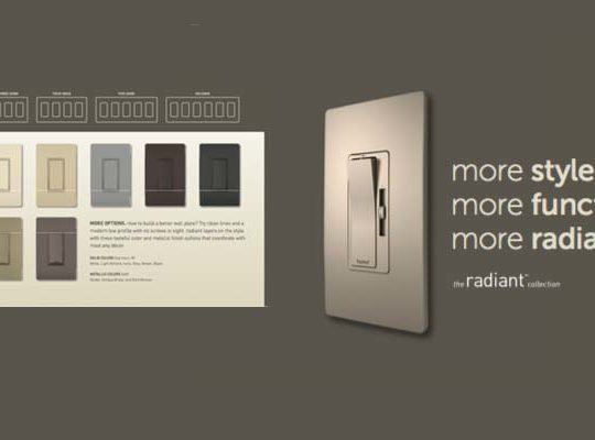 Legrand radiant collection
